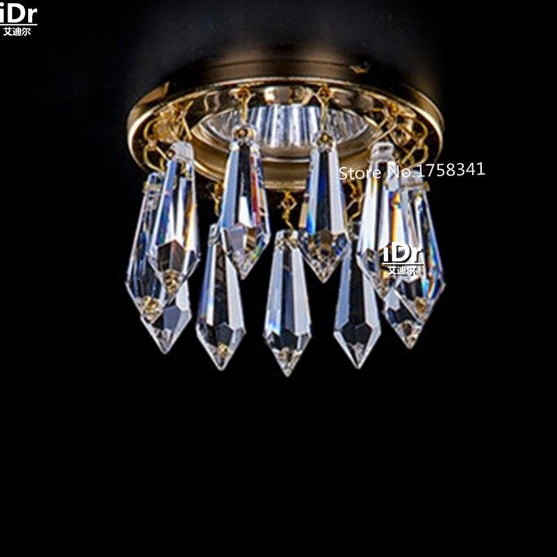 New modern lampadario di cristallo lustres de cristal soggiorno luce del corridoio di cristallo mini HA CONDOTTO le lampade di illuminazione Dia8 * H5.5cmNew modern lampadario di cristallo lustres de cristal soggiorno luce del corridoio di cristallo mini HA CONDOTTO le lampade di illuminazione Dia8 * H5.5cm