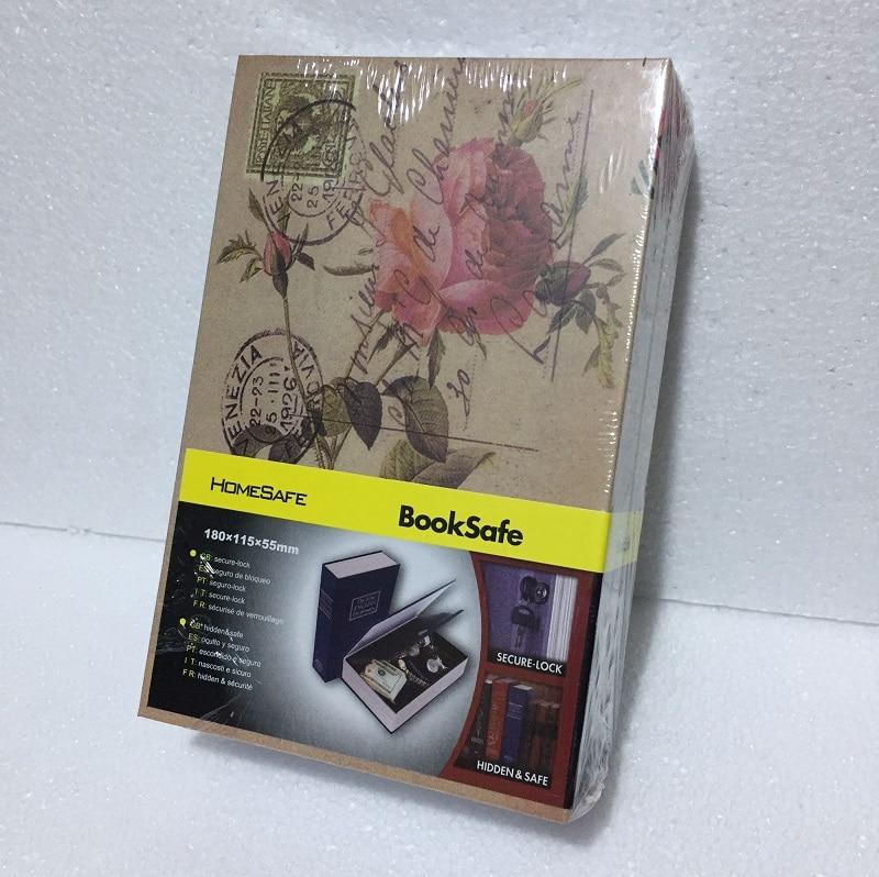 18cm*11.5cm*5.5cm Password BooksSafes Beautiful Creative Safes Box Simulation  Savings Bank