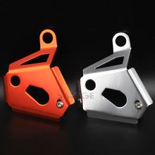 Rear Brake Pump Protector Guards Cover For KTM 950 990 ADVENTURE/S/R/ADV/SMT SUPERMOTO SUPER ENDURO Motorcycle Accessories chain adjuster regulator for ktm 950 990 smt super duke adventure supermoto r adv s r motorcycle accessories swingarm slider
