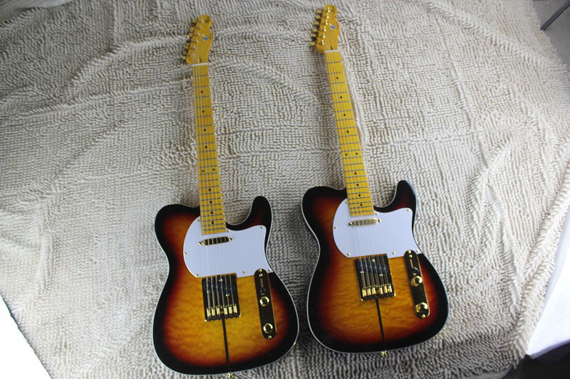 Wholesale & Retail Maple fretboard TL Electric Guitar Merle Haggard Signature Tuff Dog SUPER RARE, Excellent Quality 14 1 1