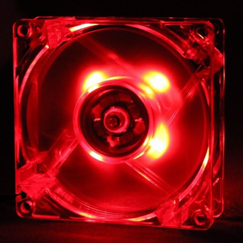 20 штук в партии Gdstime красный 12025 120 мм 12 см 4Pin 12 в 120 мм* 120 мм* 25 мм компьютерный ПК светодиодный бесщёточный кулер постоянного тока
