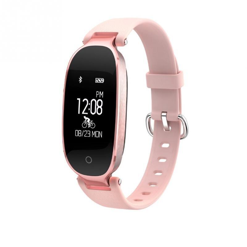 Women Bluetooth Smart Sport Female Fitness Bracelet Pedometer Heart Rate Sleep Intelligence Sports Watch Relogio Feminino mike davis knight s microsoft business intelligence 24 hour trainer