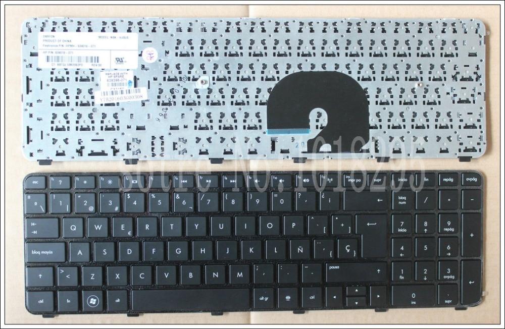 Spain Laptop Keyboard For HP DV7-6100 DV7-6000 DV7-6200 Black SP Layout keyboard 634016-071 639396-071
