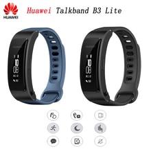 Оригинальный huawei группа B3 молодежный вариант умный браслет Bluetooth гарнитуры ответ/End Call Run Walk сна автоматическое слежение сигнализации сообщение