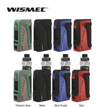 Original WISMEC Reuleaux Tinker2 200W TC Mod/Kit with Trough Tank 2ml/6.5ml fit WT Coil Electronic Cigarette Vape Vaporizer original electronic cigarette innokin proton plex kit 235w proton box mod vape with 4ml plex tank plexus scion coil vaporizer