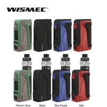 цена на Original WISMEC Reuleaux Tinker2 200W TC Mod/Kit with Trough Tank 2ml/6.5ml fit WT Coil Electronic Cigarette Vape Vaporizer