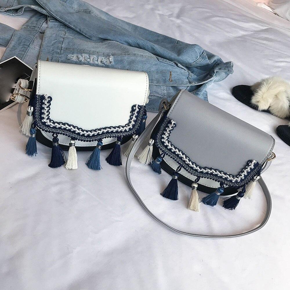 a9592bb8b9e8 Casual Summer Vintage Crossbody Bag Women Solid leather Messenger Bags  Female Girls Casual Shoulder Bags Capacity Sling handbag