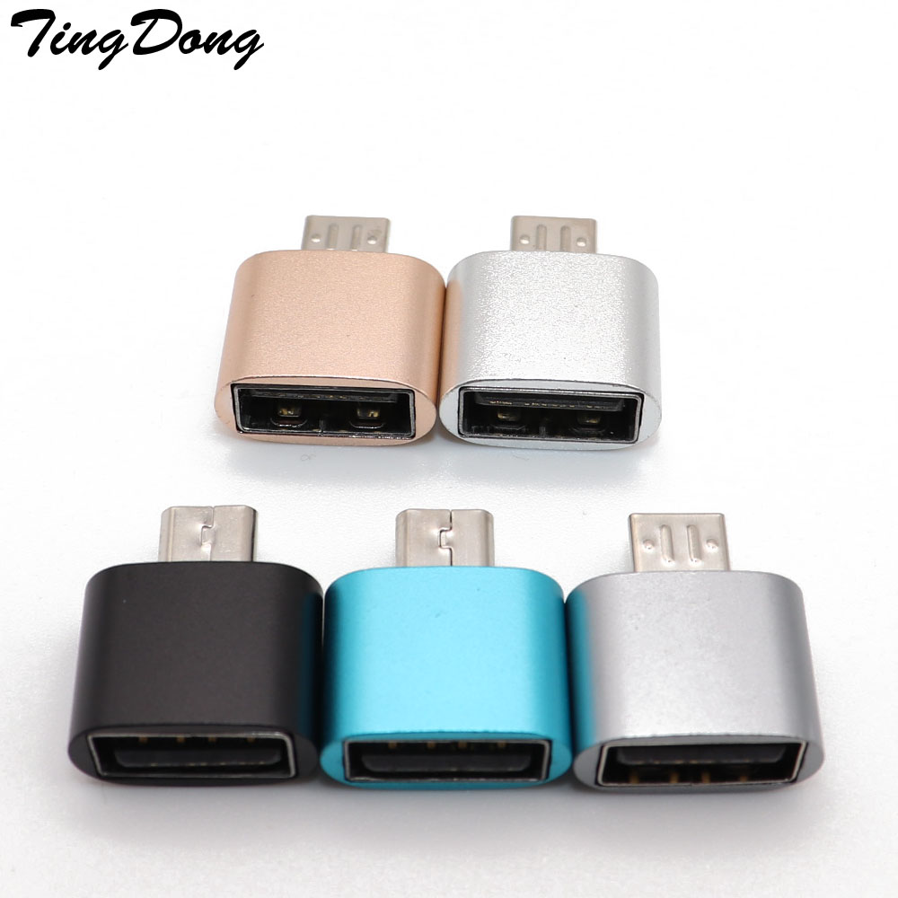 OTG Adapter Micro USB OTG 2.0 Hug Converter Camera For Android Phone For Samsung Cable Card Reader OTG Cable Reader