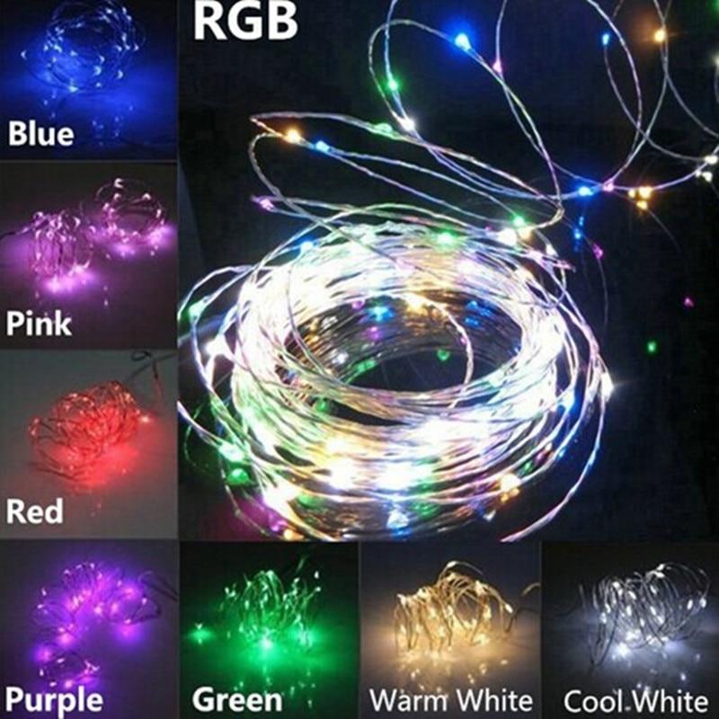 Tiras de Led feriado da lâmpada do jardim Geração de Energia : Mudar