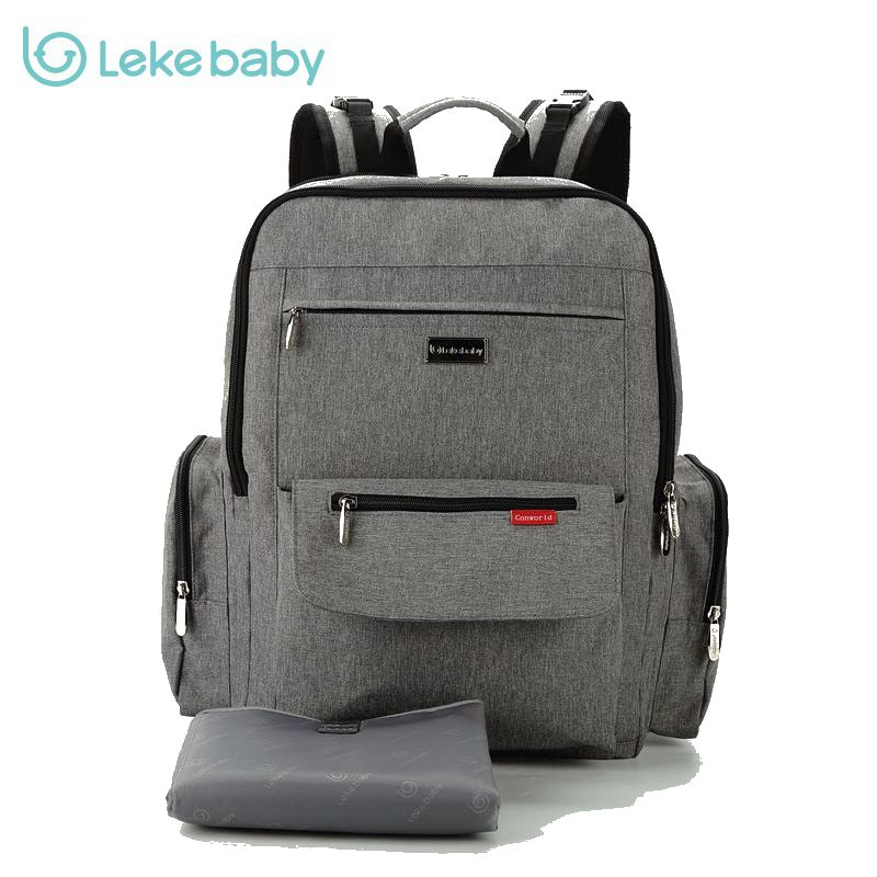 Lekebaby Baby stroller mummy maternity travel Nappy Diaper Tote Wet Bag backpack bags for mom bolsa maternidad bolso maternal 5 in 1 diaper bag set baby changing maternity infant stuff storage tote nappy bags mummy storage bags fashion baby stroller bags
