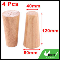 Canteen Wood Furniture Cabinet Sofa Legs Feet Replacement 4 7 Inch Height 4 Pcs
