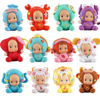 HelicMax Fashion Plush Toys Shop Home Decoration 12 Pcs/lot Twelve Constellations Children Girls Toy Dolls Stuffed Kids Toys