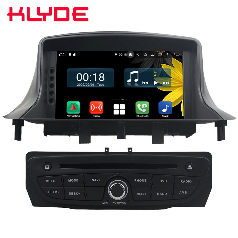 7 Octa Core 4G Android 8.1 4GB RAM 64GB ROM BT Car DVD Player Stereo Radio GPS Glonass For Renault Megane III Fluence 2009-20167 Octa Core 4G Android 8.1 4GB RAM 64GB ROM BT Car DVD Player Stereo Radio GPS Glonass For Renault Megane III Fluence 2009-2016
