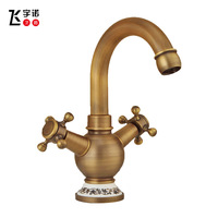 All copper antique tap