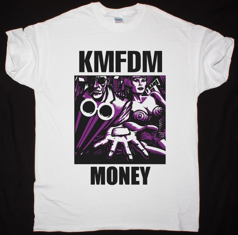 Cotton Shirts 2018 Kmfdm Money Front Line Assembly Lords Of Acid New