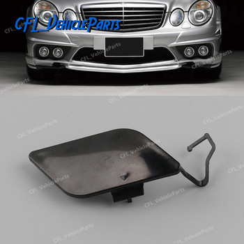 Front Bumper Tow Hook Cover Cap Unpainted Primed 2118851022 For Mercedes Benz E Class W211 E200 E280 E350 E500 2006-2009 image