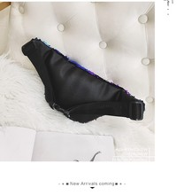 QIUYIN Belt Bags Luxury Fashion Women Bling Shoulder Messenger Chest Bag heuptas wandelen Waist Fanny Packs