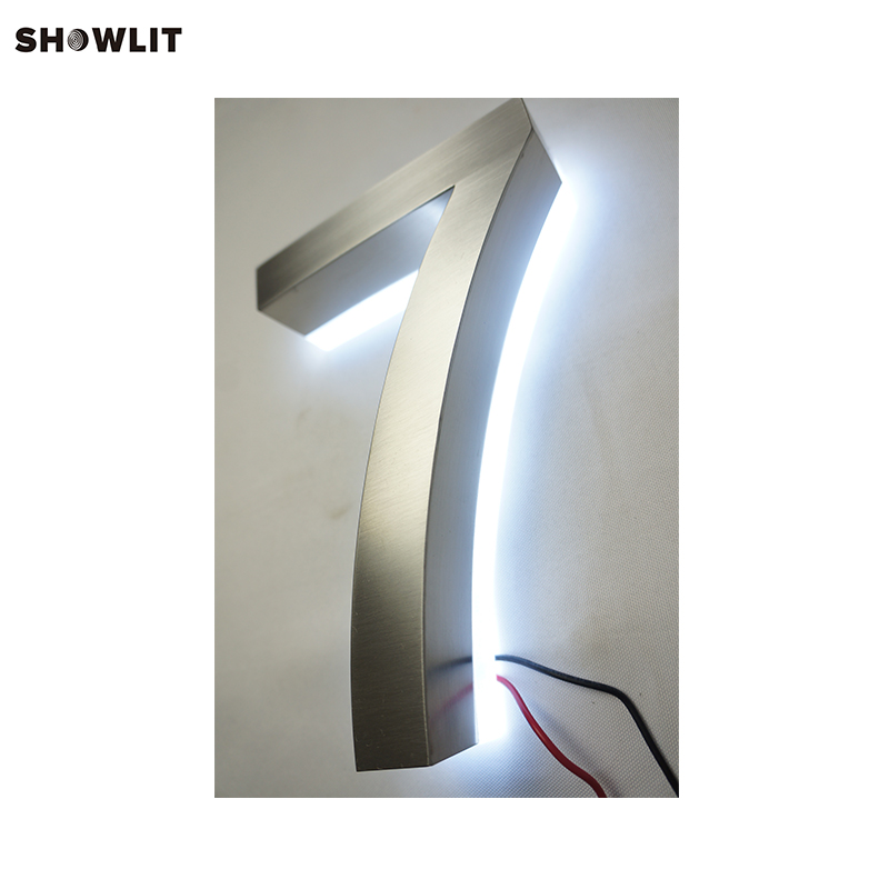 8 Inch LED House Numbers Low Power Low Voltage8 Inch LED House Numbers Low Power Low Voltage