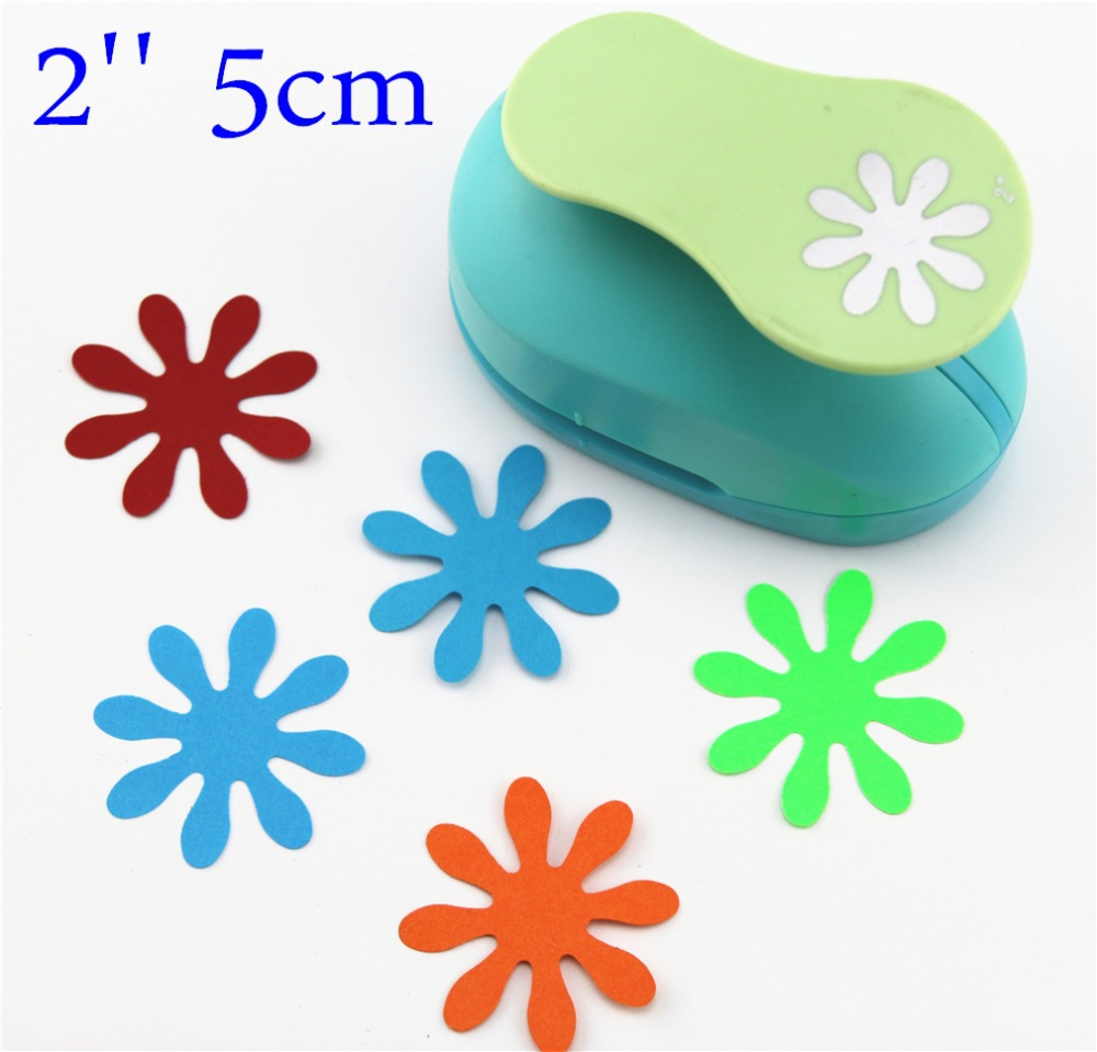 2'' 5cm puncher punch paper cutter scrapbook Embossing device kid child craft tool hole punches 1 inch 25mm crafy punches paper cutter punch embossing machine diy craft kindergarten children fine arts craft tools
