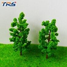 Teraysun 20 pcs árvores de arame escala 80/30 fio de ferro em miniatura de árvore para o modelo de trens layout escala ho