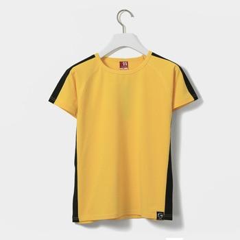 USHINE Cotton Martial Arts Clothing Shirt Wing Chun Kung Fu Shirt Short Sleeve Shirt Classic KungFu Uniform Men Women
