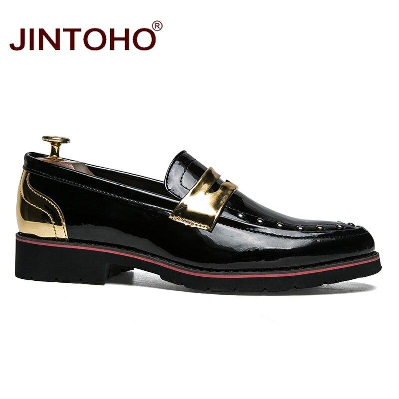 scarpe Se appartamenti Luxury pelle slip yun Jintoho on moda casual Jin mocassini per Se uomini uomo Brand nuovi in 2018 STzwqgI