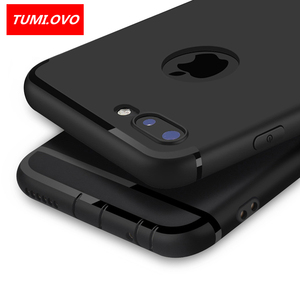 Luxury Back Matte Soft Silicon Case for iPhone 6 Cases 6s Plus 5 5s 5SE Candy Colors Full Cover iPhone 7 Case Plus Phone Cases