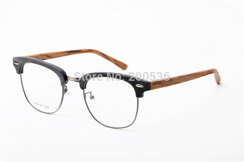 wooden eyewear frames