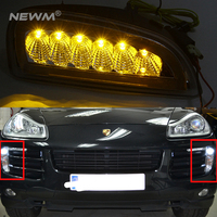 Car Styling LED Daytime Running Lights for Porsche Cayenne LED DRL 2006 2007 2008 2009 2010 Automobiles DRL