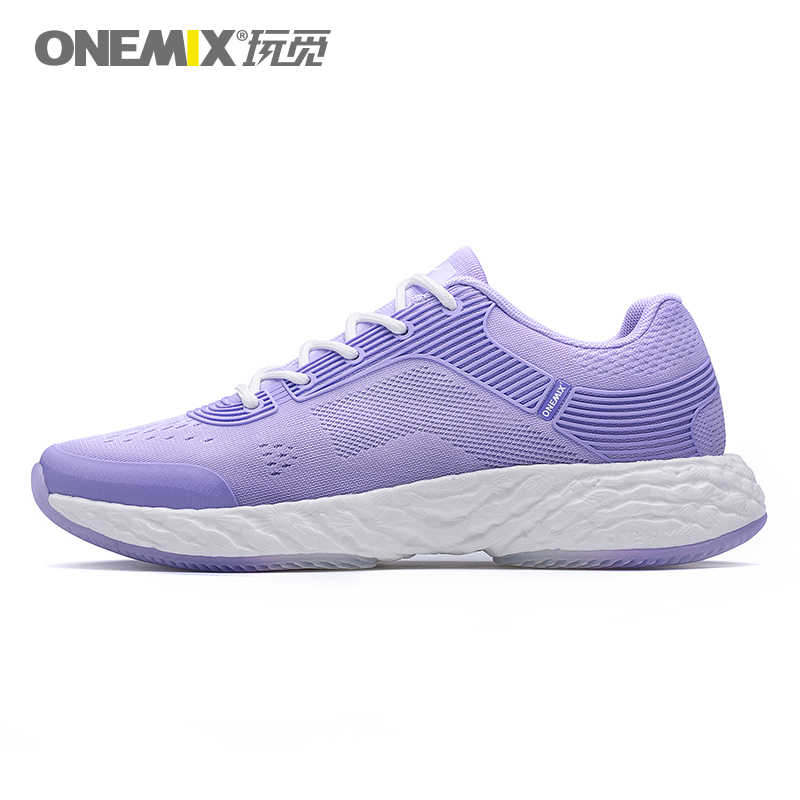 info for 66d2c 1e7a6 ONEMIX Lightweight Running Shoes Powerful Rebound Breathable Jacquard Vamp  Gentle Touch Feeling Women Sneakers Max 7