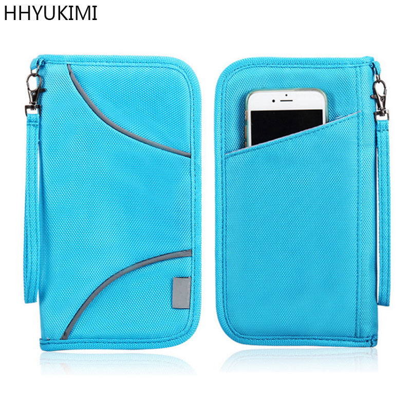 HHYUKIMI Blocking Passport Cover Travel Wallet Passport Holder ...