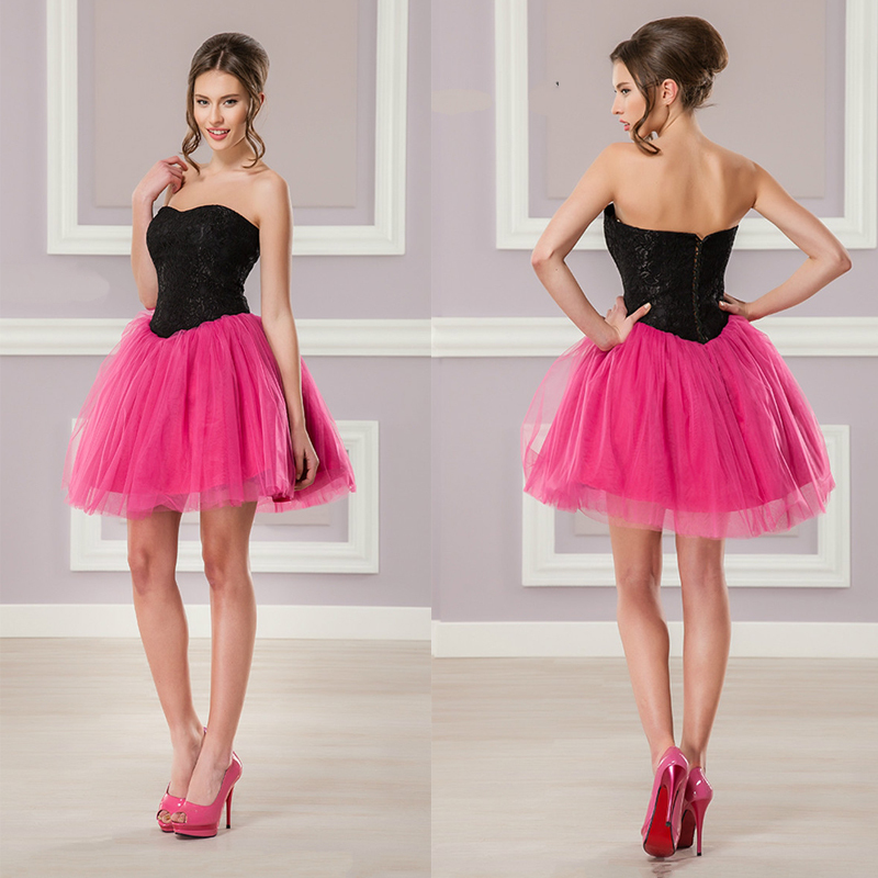 Compare Prices on Pink Black Cocktail Dress- Online Shopping/Buy ...