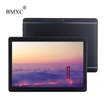 Bmxc 10 дюймов Tablet смартфон Octa Core 1920*1200 HD 8.0MP 4 ГБ Оперативная память 32 ГБ Встроенная память Dual SIM Bluetooth GPS Android 6.0 tablet pc + подарок