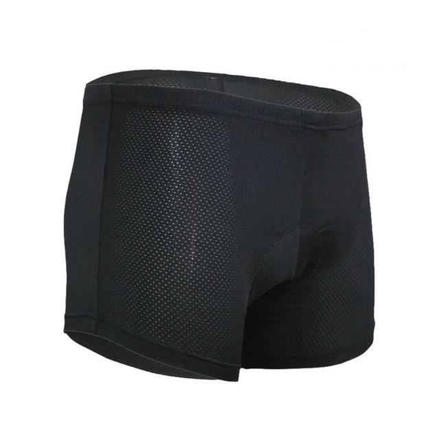 2018 New Men's Outdoor Sports Bike Anti-sweat Underwear 3D Gel Padded Coolmax Cycling Underwear Bicycle Shorts For MTB