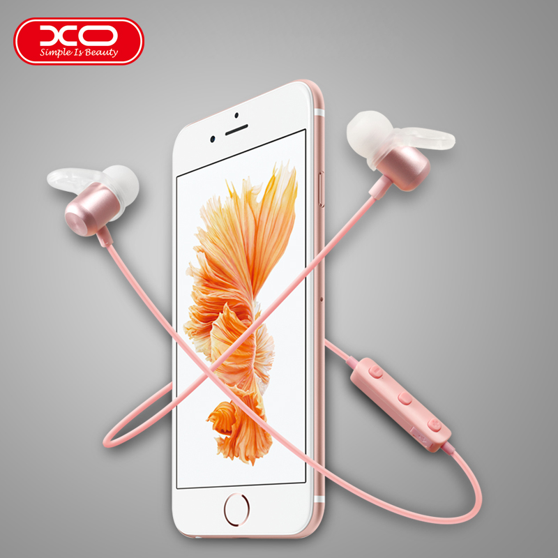 XO BS2 Sports Magnetic Bluetooth Headset Wireless bluetooth V4.1 headsets Handsfee Earbuds Music Earphone Stereo Headset