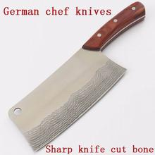 Traditional carbon steel kitchen Accessories knives slicing /chop bone /cutting knife+Chef knives/ Utility Knives Chinese style