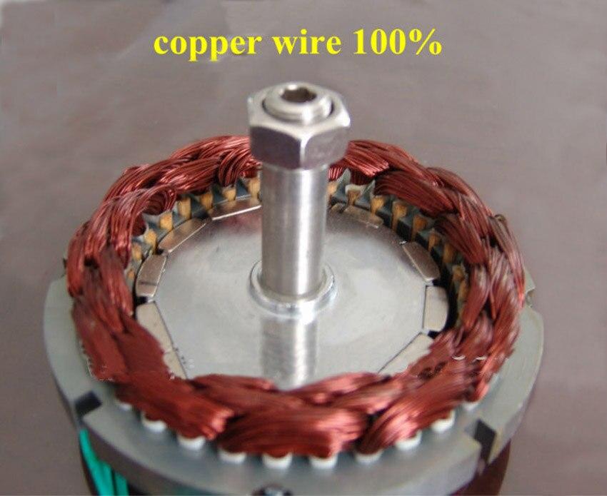 Générateur ac à aimant Permanent sans brosse 12 V 24 V 48 V 300 W avec Base, 600 tr/min et faible couple de démarrage PMG - 6