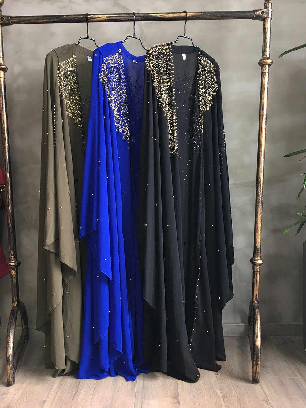 סופר גודל חדש סגנון אפריקאי נשים של דאשיקי אופנה חם תרגיל חרוזים התארך קייפ סלעית קייפ ארוך שמלת 837
