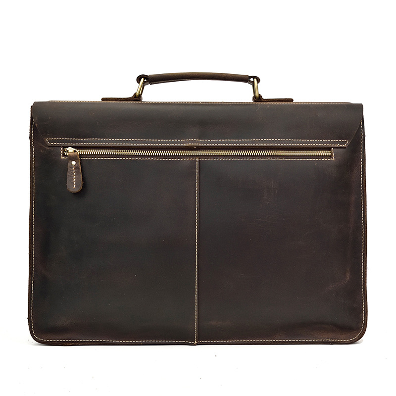 HTB1t76SX.GF3KVjSZFvq6z nXXaR MAHEU Luxury Fashion 100% Genuine Leather Men Briefcase Cow Leather Laptop Bag Vintage Shoulder Bag Real Cowhide Computer Bag