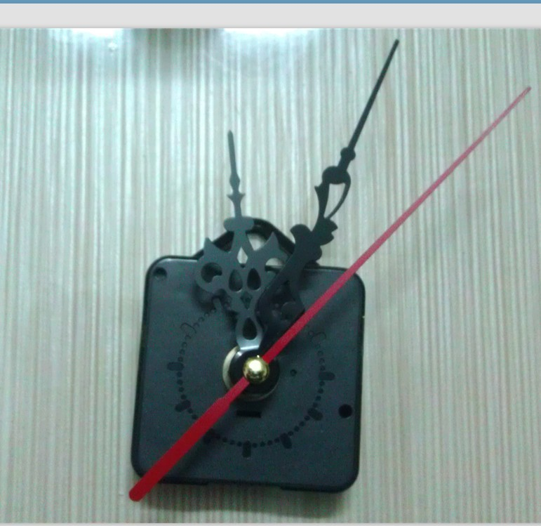 Doprava zdarma 10PCS / LOT METAL HANGER Hák Quartz Clock Movement Kit Vřetenový mechanismus S RUKY