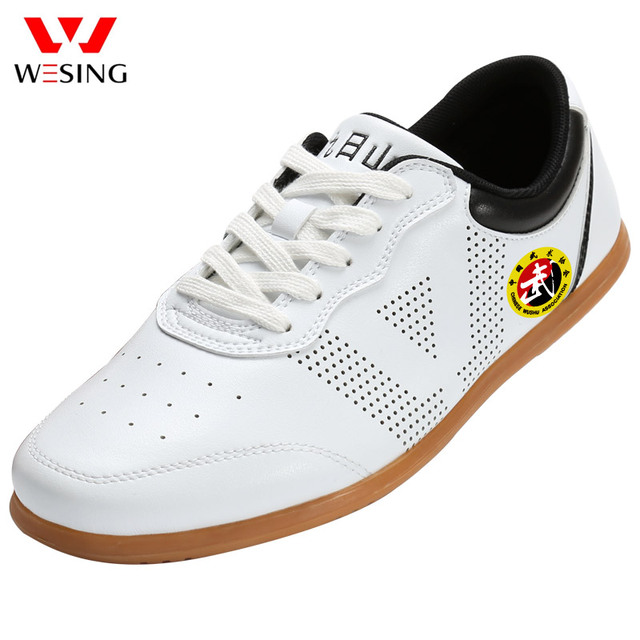WESING тай-чи обувь для тренировок тайцзи тенью обувь с большой Размеры занятий обувь для Для мужчин Для женщин спортсменов тай-чи носит