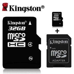 Cartão sd 16g 32g 64g 128g microsd microsdhc 128 cartão de memória sdhc sdxc de kingston classe 10 tf 8gb 16gb 32gb 64gb 64gb 64gb UHS-I gb