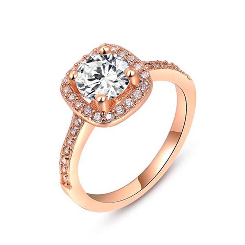 9cf8ee5533c7 ROXI mujeres Anillos boda amor para mujeres anillos Mujer Oro Blanco oro  rosa cristal Anillo Compromiso joyería Anillos mujer en Anillos de Joyería  y ...