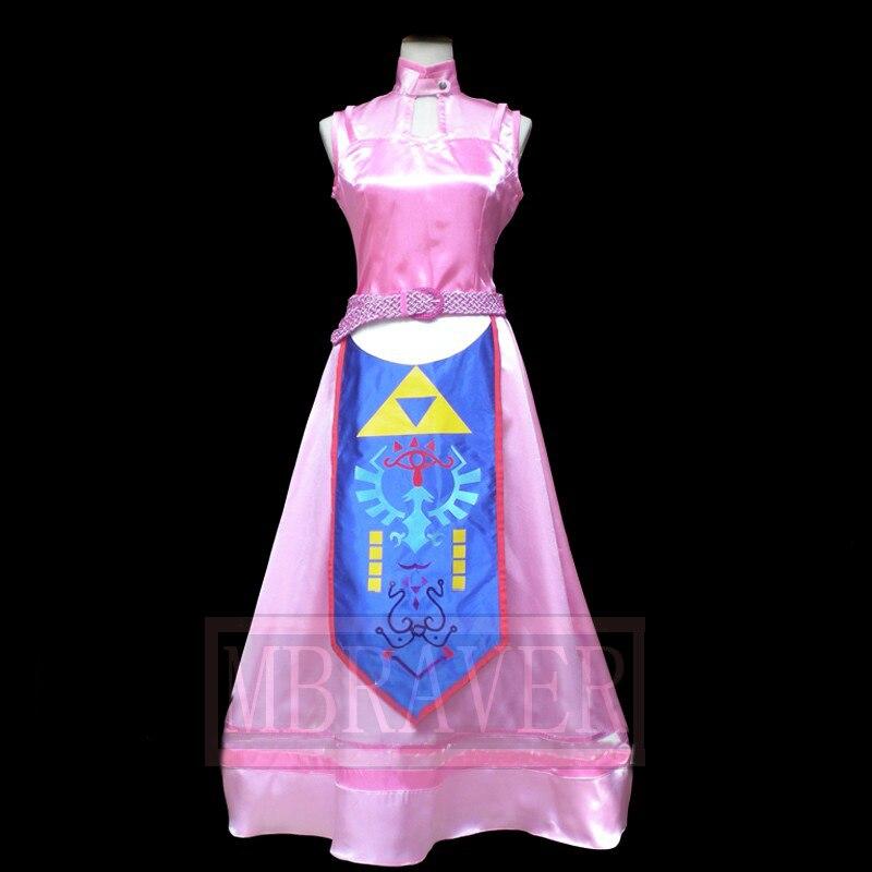 Custom Made The Legend Of Zelda The Wind Waker Princess Zelda Cosplay Costume