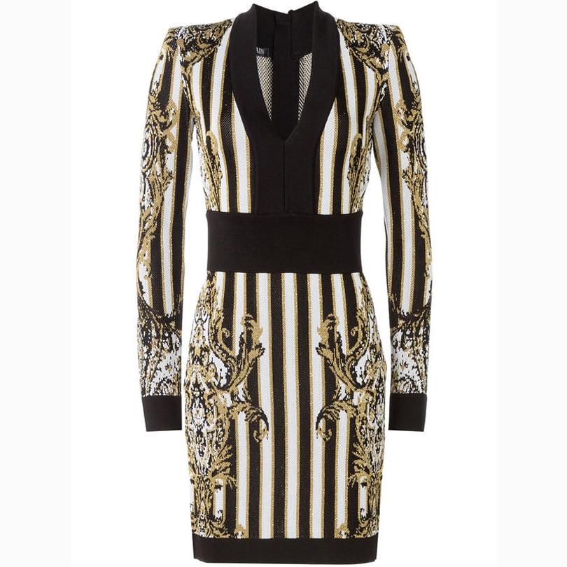ВИСОКО КАЧЕСТВО Париж Мода 2019 Бароко - Дамски дрехи