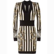 Paris Designer Bodycon Dress
