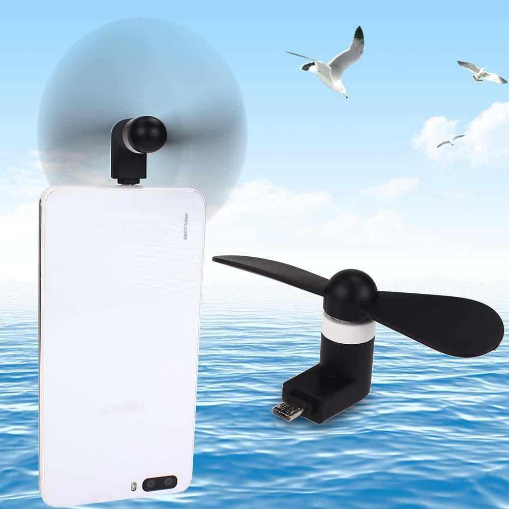 Mini Portable Cool Micro USB Fan Mobile Phone USB Gadget Fans Tester For Samsung Galaxy S6 Android phone