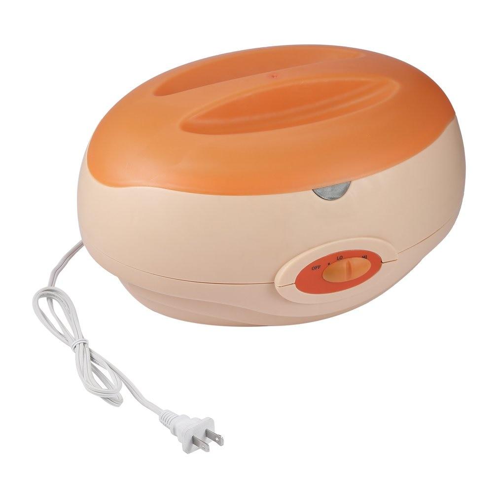 Paraffin Therapy Bath Wax Pot Warmer Spa Heater Equipment Rechargeable Body Depilatory Hands Feet Beauty Salon Care US Plug
