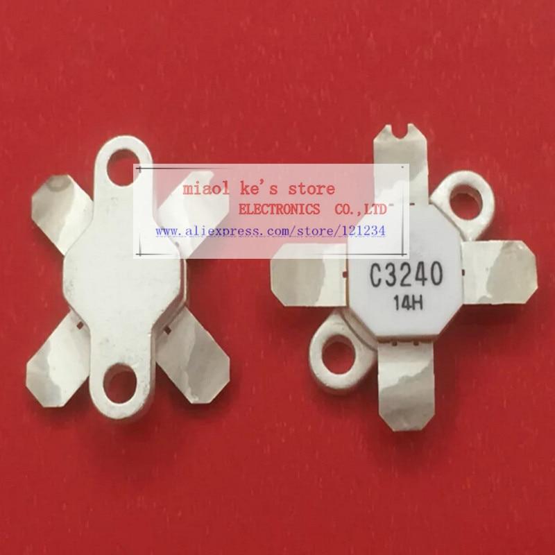 100%Original: 2SC3240 C3240 [ 12.5V-50V 25A 100W 30MHz T-45E ] - High Quality Original Transistor