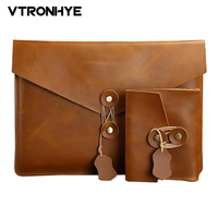 VTRONHYE 11 13 15 Inch Laptop Sleeve Bag For Macbook Air 11 6 13 3 For
